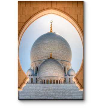 Модульная картина Купол Мечети Шейха Зайда,