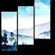 Акварельные горы