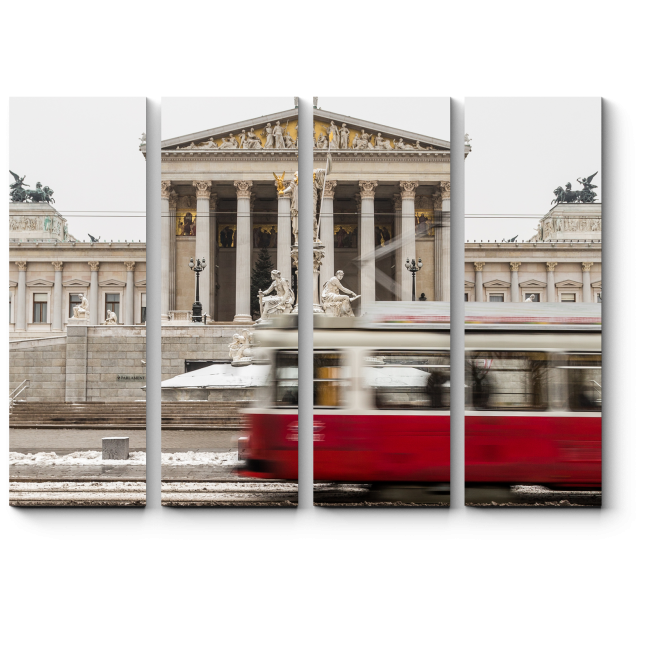 Модульная картина Здание Австрийского Парламента, Вена