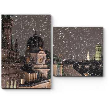Крыши зимней Вены