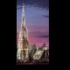 Собор Святого Стефана на закате, Вена