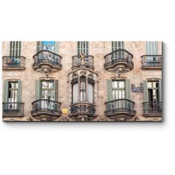 Фасад Дома Кальвета, Барселона