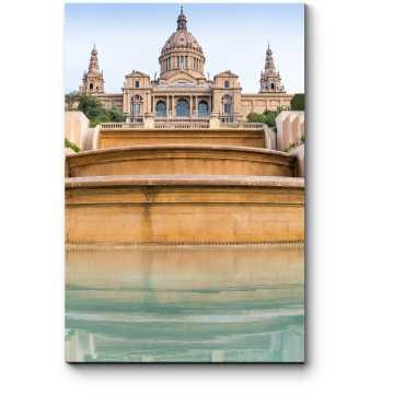Модульная картина Национальный музей искусства Каталонии, Барселона