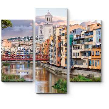 Модульная картина Где-то в прекрасной Барселоне