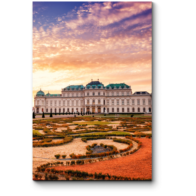 Сказочный замок в Вене
