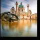 Безмятежное небо над главной площадью Вены