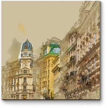 На старых улочках Вены