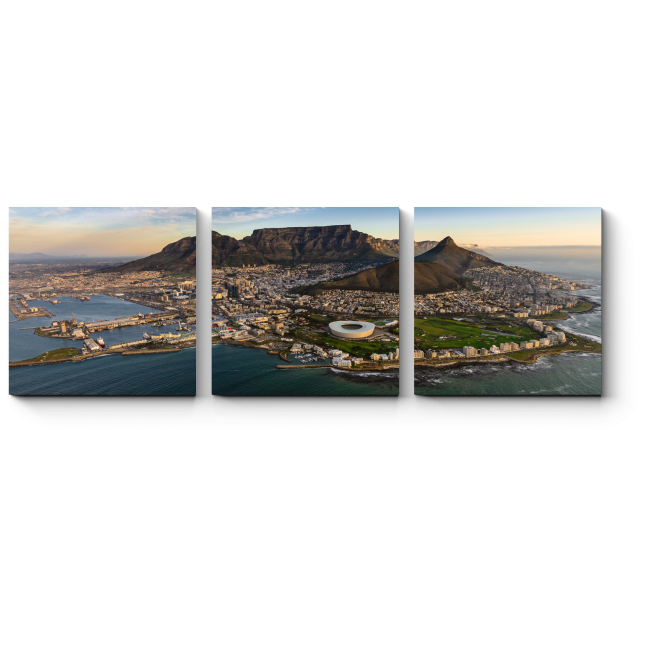 Потрясающая панорама Кейптауна