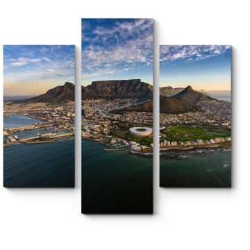 Модульная картина Потрясающая панорама Кейптауна