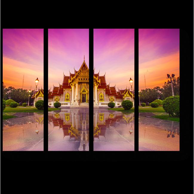 Модульная картина Дух буддизма