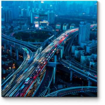Ночь на эстакаде, Шанхай