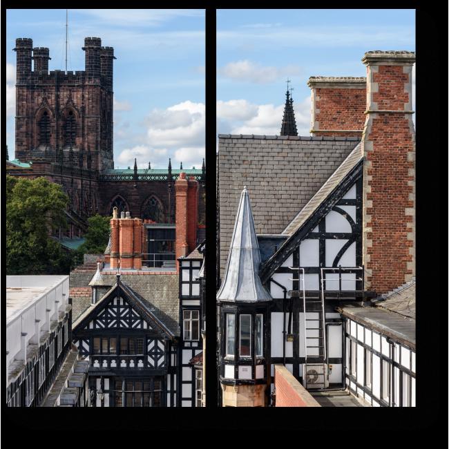 Модульная картина Честерский собор, Англия