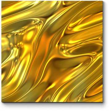 Модульная картина Расплавленное золото