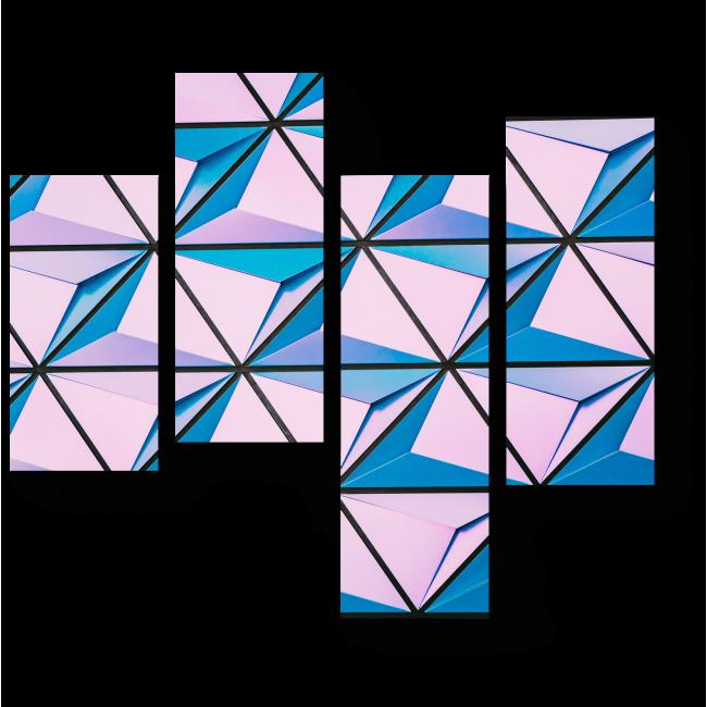 Модульная картина Паттерн #7