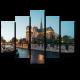 Панорама Нотр-Дама в сумерьках
