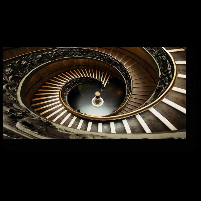 Модульная картина Закрученная лестница