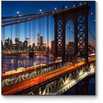 Огни ночного Манхэттена, Нью-Йорк