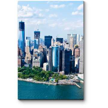 Модульная картина Солнечный днь в Нью-Йорке