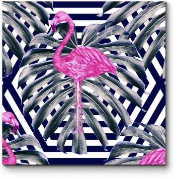 Приключения фламинго в джунглях