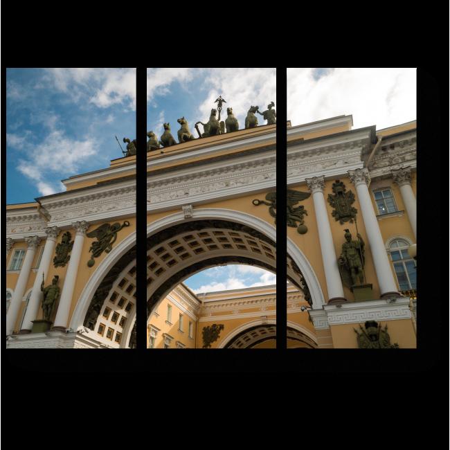 Модульная картина Любимый Санкт-Петербург