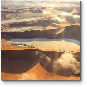 Вид на пустыню в Намибии