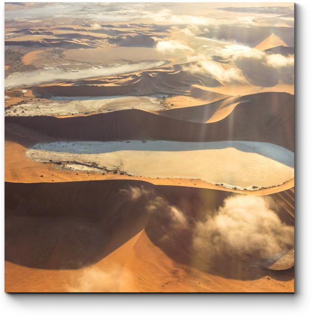 Модульная картина Вид на пустыню в Намибии