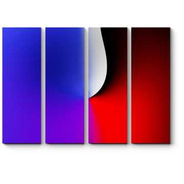 Модульная картина Спектр #3
