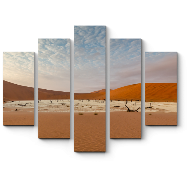 Модульная картина Умиротворенная пустыня