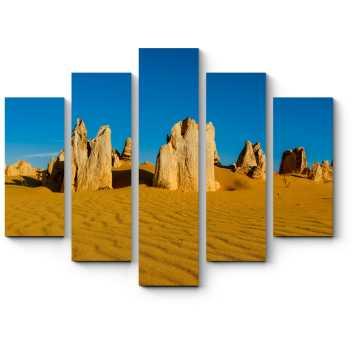 Пустыня остроконечных скал