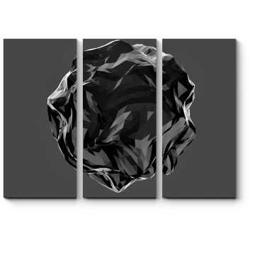 Многогранный черный
