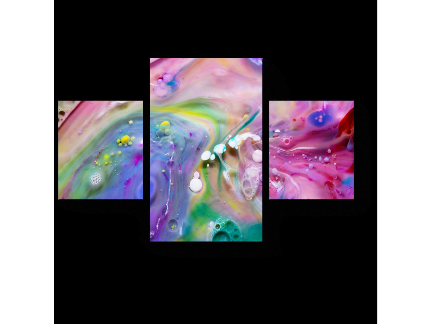 Модульная картина На поверхности воды (80x52) фото