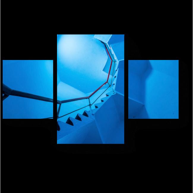 Модульная картина Вверх по крутой лестнице