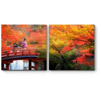 Модульная картина Сны о Японии, Киото