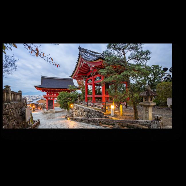 Модульная картина Красота по-японски, Киото
