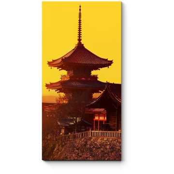 Волшебный закат в Киото