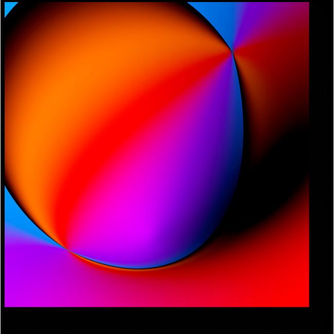 Модульная картина Спектр #1