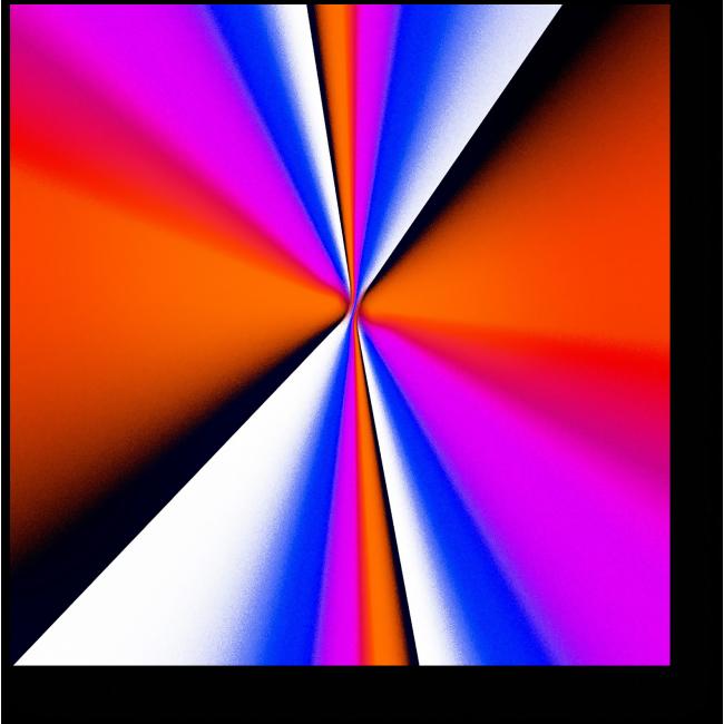 Модульная картина Спектр #2