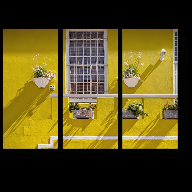 Модульная картина Солнечный дом в Кейптауне