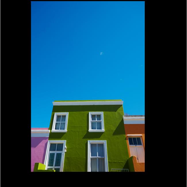Модульная картина Яркие краски города