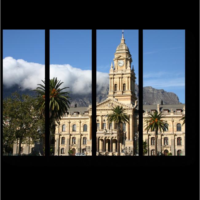 Модульная картина Великолепие Кейптауна