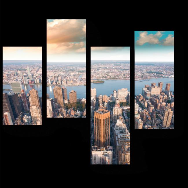 Модульная картина Панорама Нью-Йорка