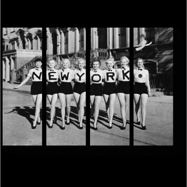 Модульная картина Патриотки Нью-Йорка