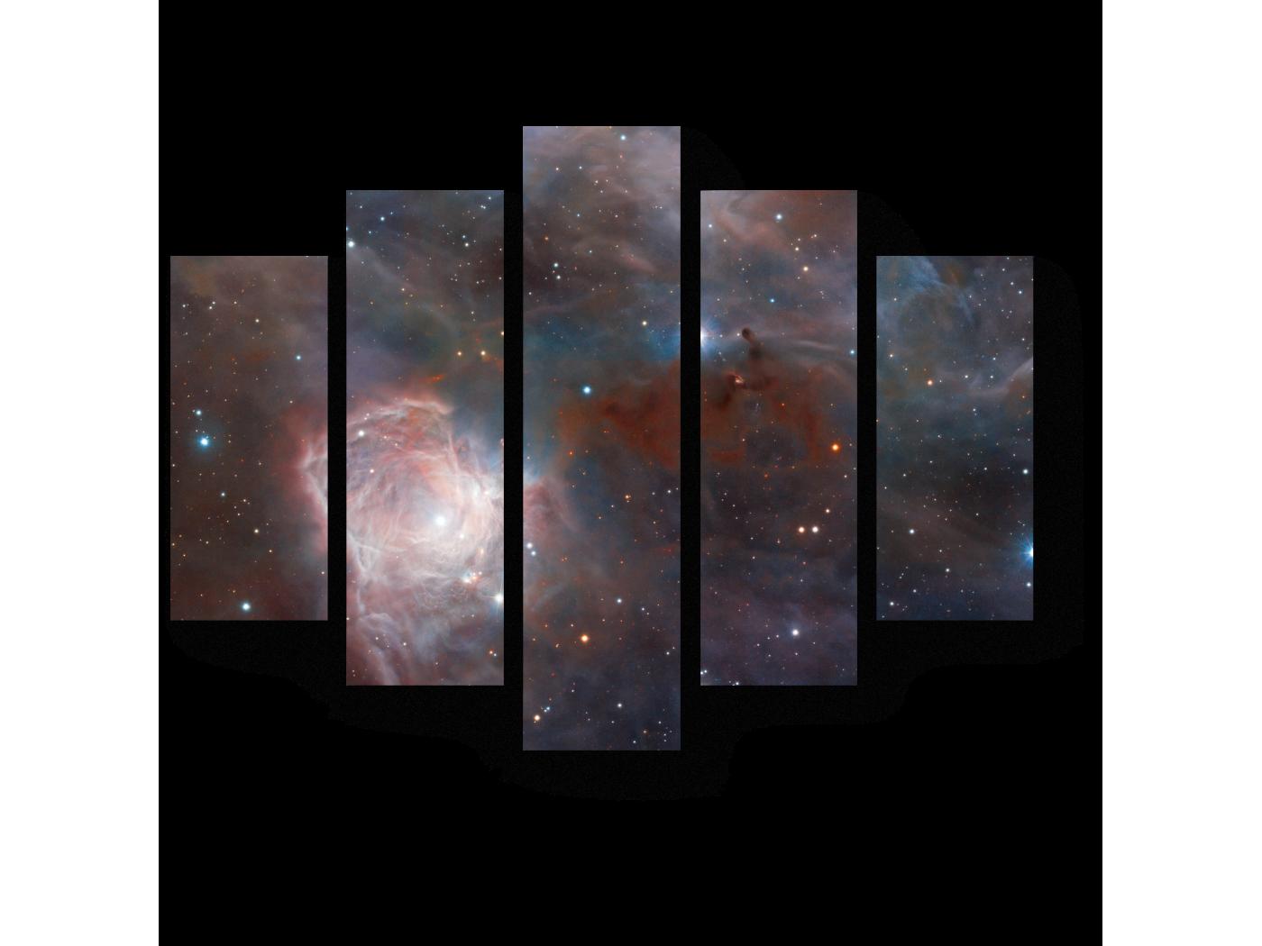 Модульная картина Туманность