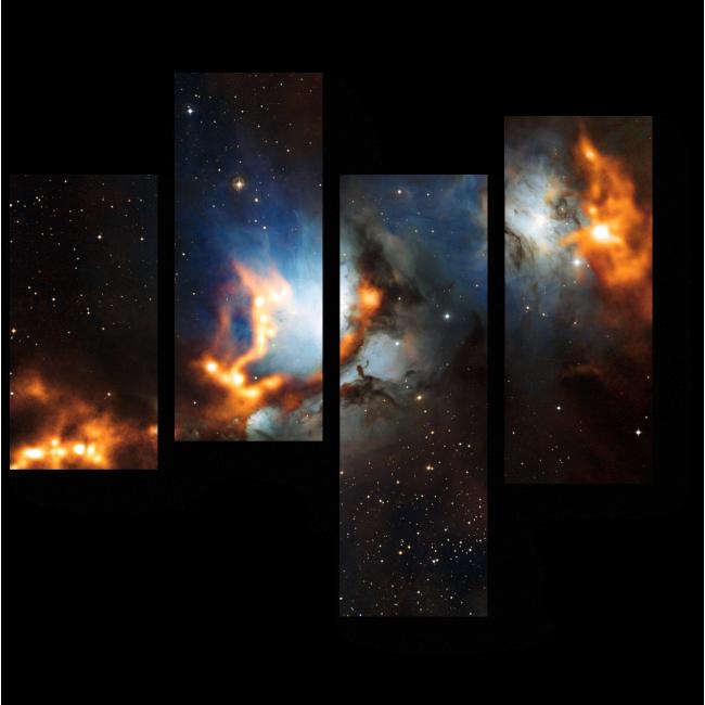 Модульная картина Туманность Ориона