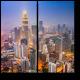 Огни туманного Куала-Лумпур