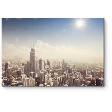 Белоснежный Куала-Лумпур
