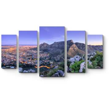 Горная тропа близ Кейптауна