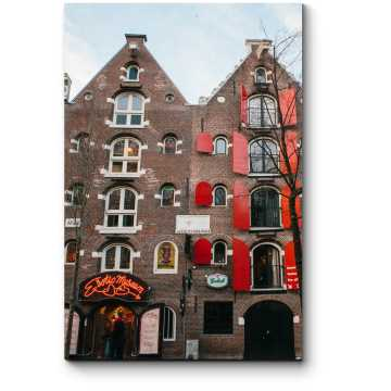 Архитектура улицы красных фонарей