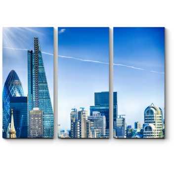 Модульная картина Небоскребы делового Лондона