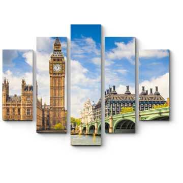 Модульная картина Солнечный Лондон